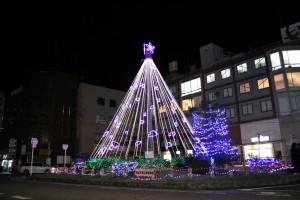 桜井市商工会エレクトリックツリー