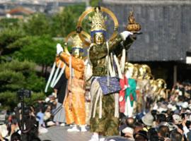 當麻寺の練供養会式